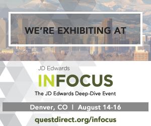 We're exhibiting at INFOCUS 2017